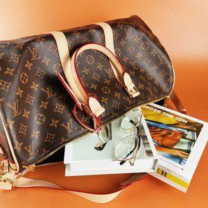 """NEW""LV KEEPALL BANDOULIèRE 45 Travel Bag"